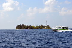 Barco expresso da velocidade de transferência da balsa Imagem de Stock