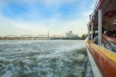 Barco expresso do rio tailandês Fotos de Stock