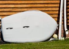 Barco extraño con los ojos Fotografía de archivo libre de regalías