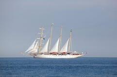 Barco grande de las podadoras Imágenes de archivo libres de regalías