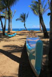 Barco hawaiano Imagenes de archivo