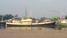 Barco hermoso Foto de archivo libre de regalías