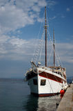 Barco hermoso Fotografía de archivo libre de regalías