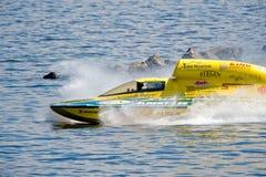 Barco hidráulico de la raza Foto de archivo libre de regalías