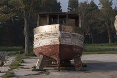Barco inacabado Imagen de archivo