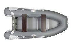 Barco inflable Imagen de archivo libre de regalías