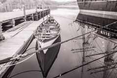 Barco infrarrojo Imagen de archivo libre de regalías