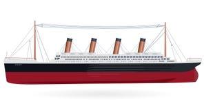 """Barco legendário do †titânico """" ilustração do vetor"""