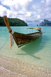 Barco longo - phi Don da phi de Ko, Tailândia Foto de Stock