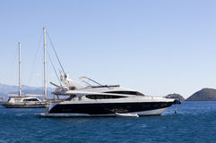 Barco luxuoso Fotografia de Stock