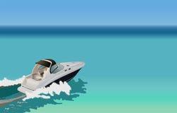 Barco luxuoso Imagem de Stock Royalty Free