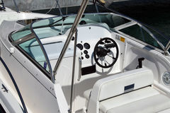 Barco luxuoso da potência Foto de Stock Royalty Free