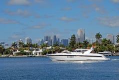 Barco luxuoso de Sportfishing foto de stock royalty free