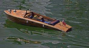 Barco modelo de la velocidad Foto de archivo libre de regalías