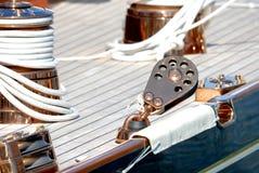 Barco muy agradable, royale de los regates Foto de archivo libre de regalías