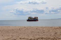 Barco na água Foto de Stock