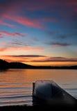 Barco na doca Imagens de Stock
