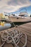 Barco na margem de toronto Imagens de Stock Royalty Free
