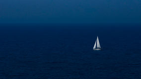 Barco na noite Imagem de Stock