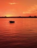 Barco na passagem da pedra-pomes Imagens de Stock Royalty Free