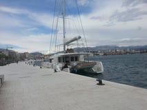 Barco no beira-mar Foto de Stock