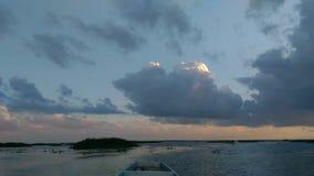 Barco no lago Fotos de Stock