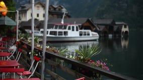 Barco no lago Hallstatt filme