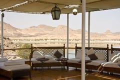 Barco no lago Nasser Fotografia de Stock Royalty Free