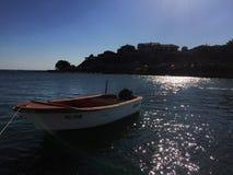 Barco no mar fotos de stock