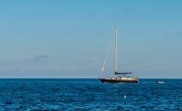 Barco no mar Imagem de Stock