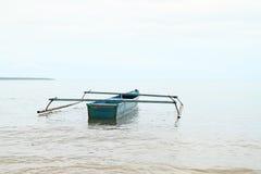Barco no mar fotografia de stock royalty free