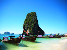 Barco no mar Imagens de Stock