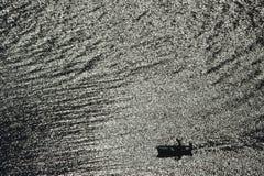 Barco no Mar Egeu, ilha do Rodes Foto de Stock Royalty Free