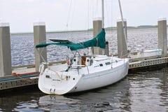 Barco no porto Fotografia de Stock