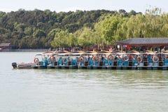 Barco no rio Foto de Stock Royalty Free