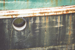 Barco oxidado Foto de Stock Royalty Free