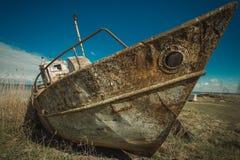 Barco oxidado foto de archivo
