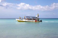 Barco para el salto recreacional fotografía de archivo