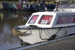 Barco para la venta Foto de archivo libre de regalías