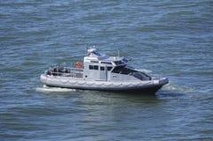 Barco-patrulha da marinha fotos de stock royalty free