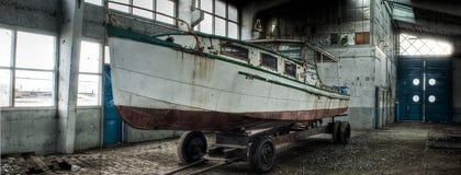 Barco perdido foto de stock