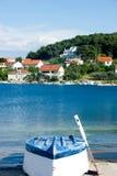 Barco perto de um mar Foto de Stock Royalty Free
