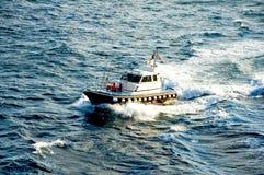 Barco piloto imagem de stock royalty free