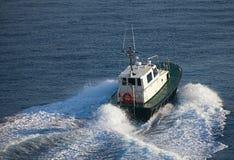 Barco piloto Fotografia de Stock