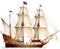 Barco pirata Fotos de archivo libres de regalías