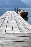 Barco por el topo Foto de archivo