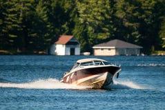 Barco rápido fotos de archivo