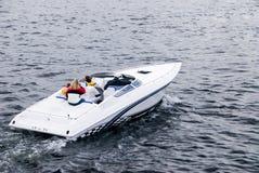 Barco rápido de la potencia Fotografía de archivo libre de regalías