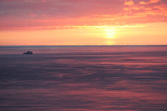 Barco rastreador Imagen de archivo