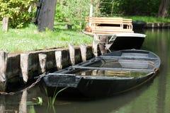 Barco regado Fotografía de archivo